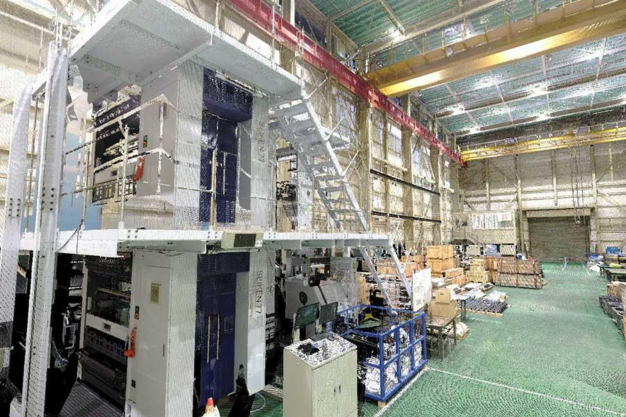 既存工場設備のデータ化